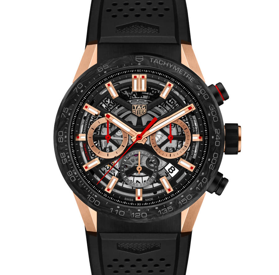 TAG Heuer Carrera Carbon Rose Gold