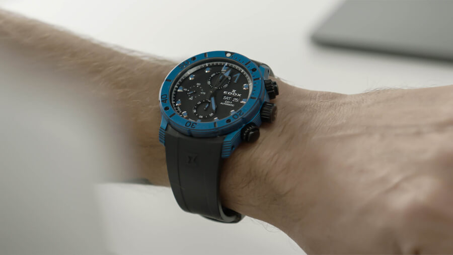 Edox Co-1 Carbon Chronograph Automatic Watch Review