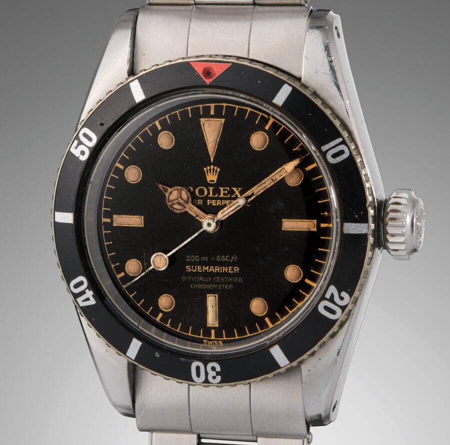 """Rolex """"Big Crown"""" Ref. 6538  """"James Bond"""" Submariner"""