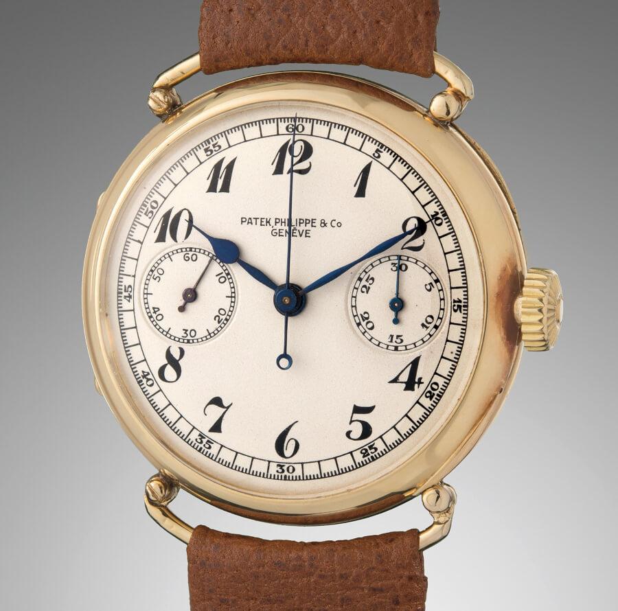 Patek Philippe single-button chronograph