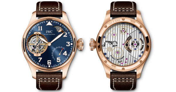 "Pre SIHH 2019: IWC Big Pilot's Watch Constant-Force Tourbillon Edition ""Le Petit Prince"""