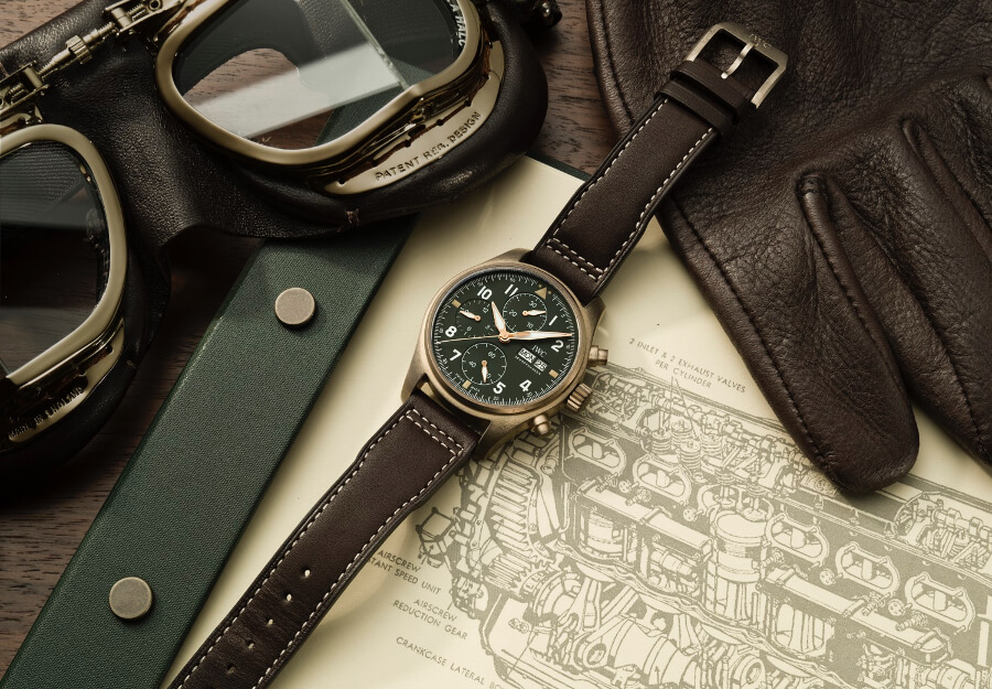 IWC Pilot's Watch Chronograph Spitfire Bronze