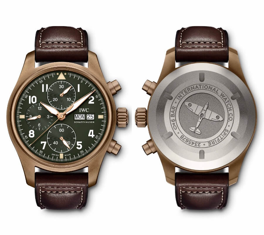 IWC Pilot's Watch Chronograph Spitfire Watch Review