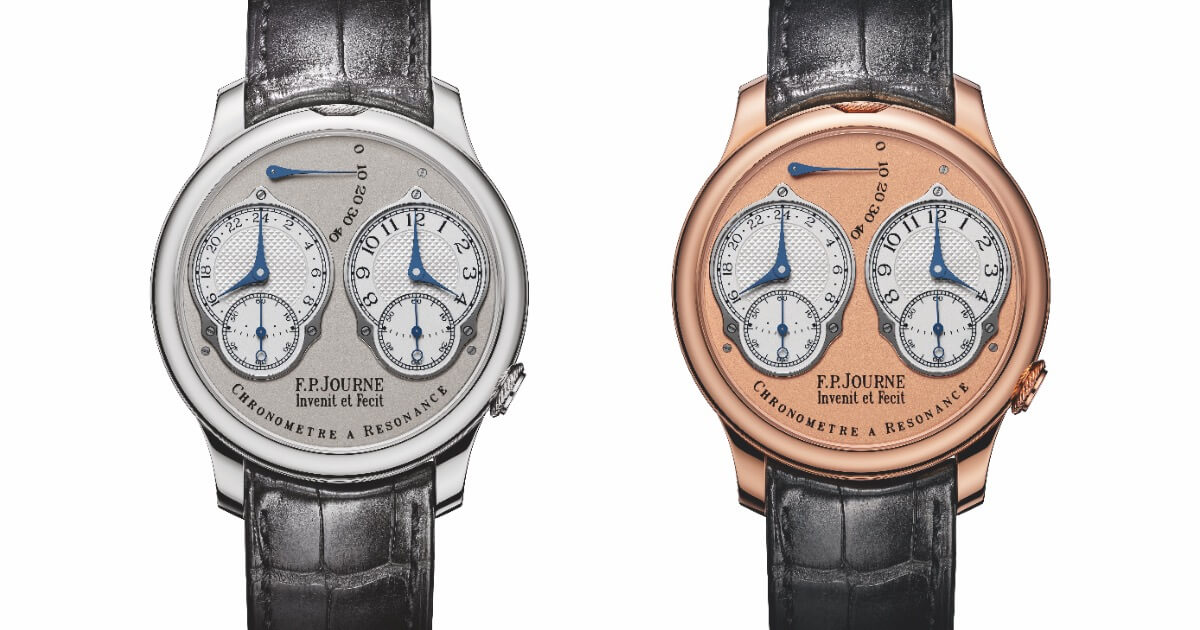 F.P. Journe Chronometre A Resonance With Analog 24 Hour Display (Pictures and Prices)
