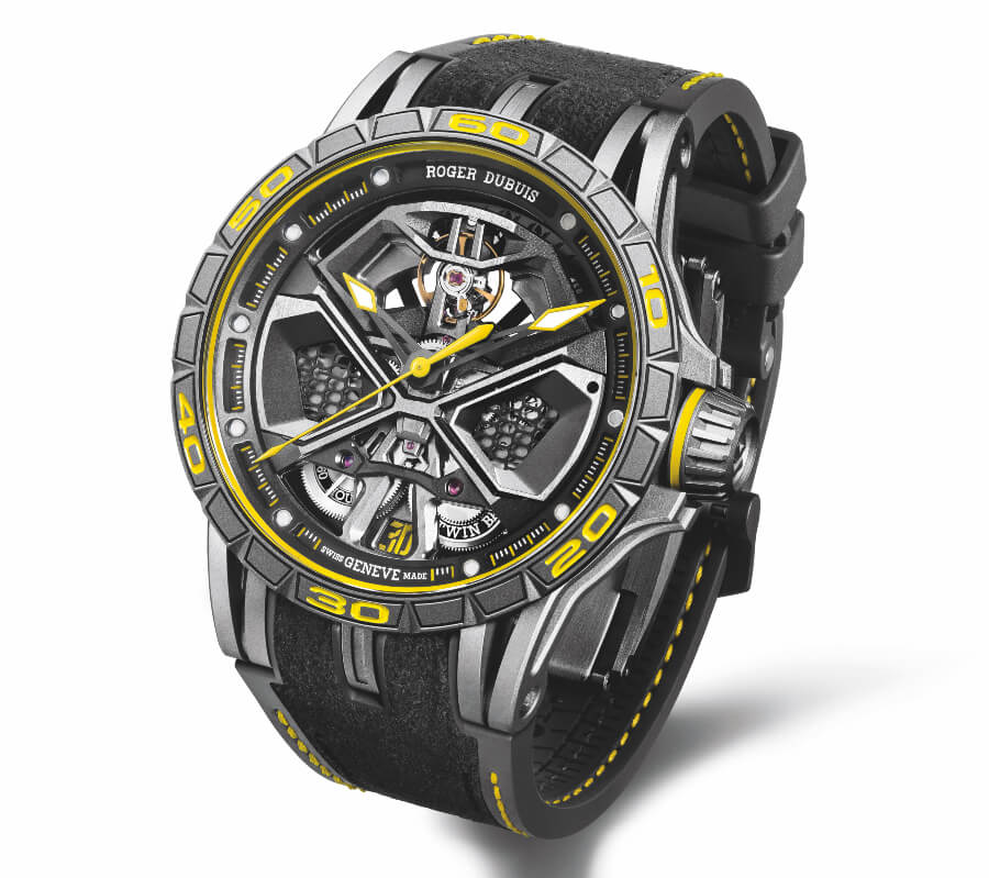 The New Roger Dubuis Excalibur Huracan Performante