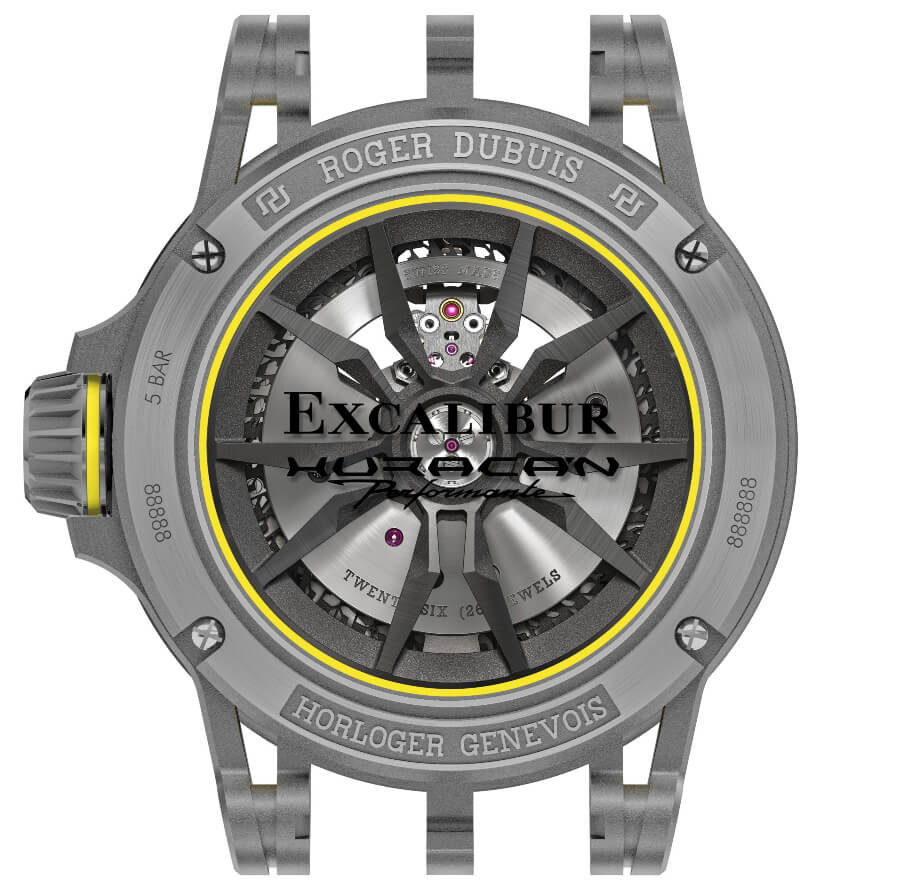 Roger Dubuis RD630 Movement