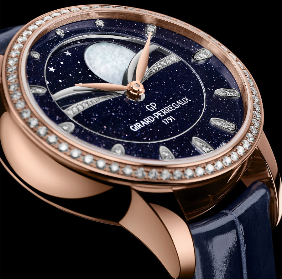 The New Girard Perregaux Cat's Eye Celestial Aventurine
