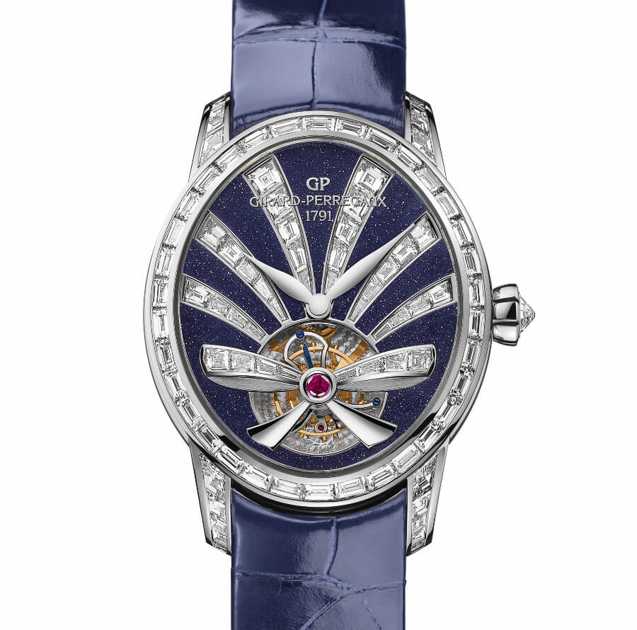 Girard Perregaux Cat's Eye Tourbillon Aventurine