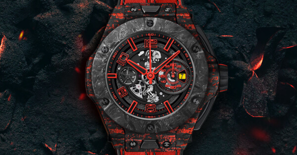 Hublot Big Bang Ferrari Scuderia Corsa Timepiece Limited Edition