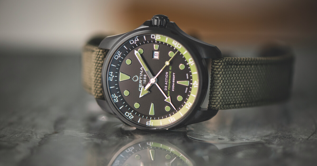 Certina DS Action GMT Automatic (Pictures, Specifications and Price)