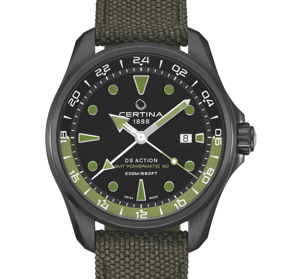 Certina DS Action GMT Automatic