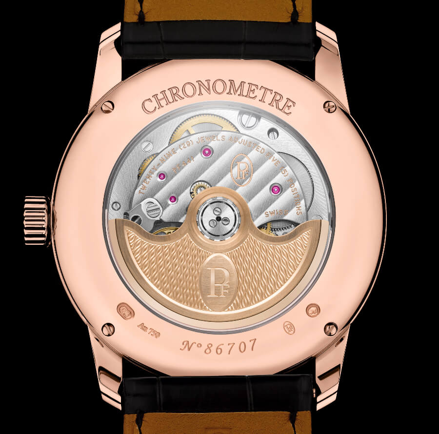 Parmigiani Toric Chronometre Guilloche Dial Movement
