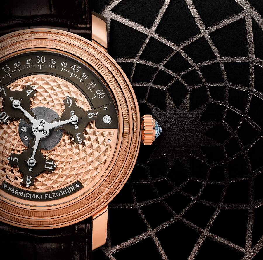 The New Parmigiani Toric Capitole Rose Gold Brown
