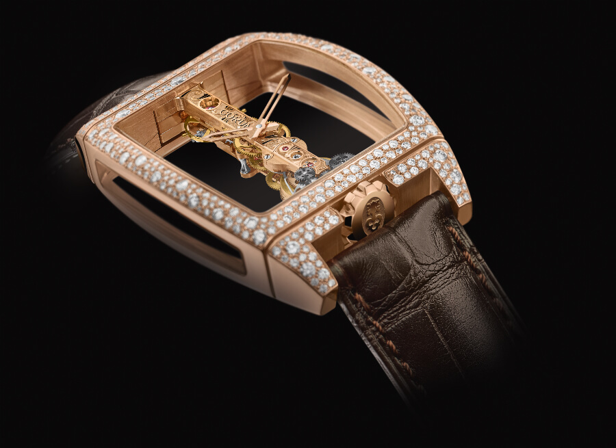 The New Corum Bridges Golden Bridge
