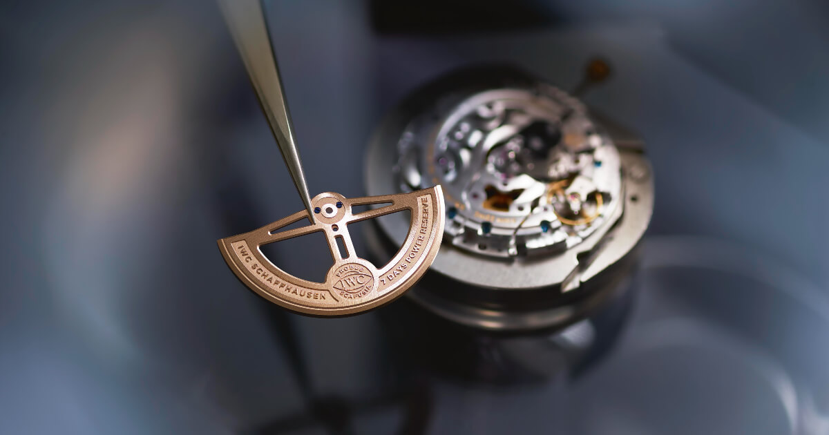 IWC Ranks Top In WWF Swiss Watch And Jewellery Sector Report