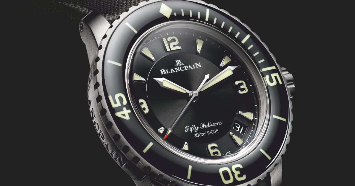 The New Blancpain Fifty Fathoms Automatic 5051 Titanium Version (Pictures and Price)