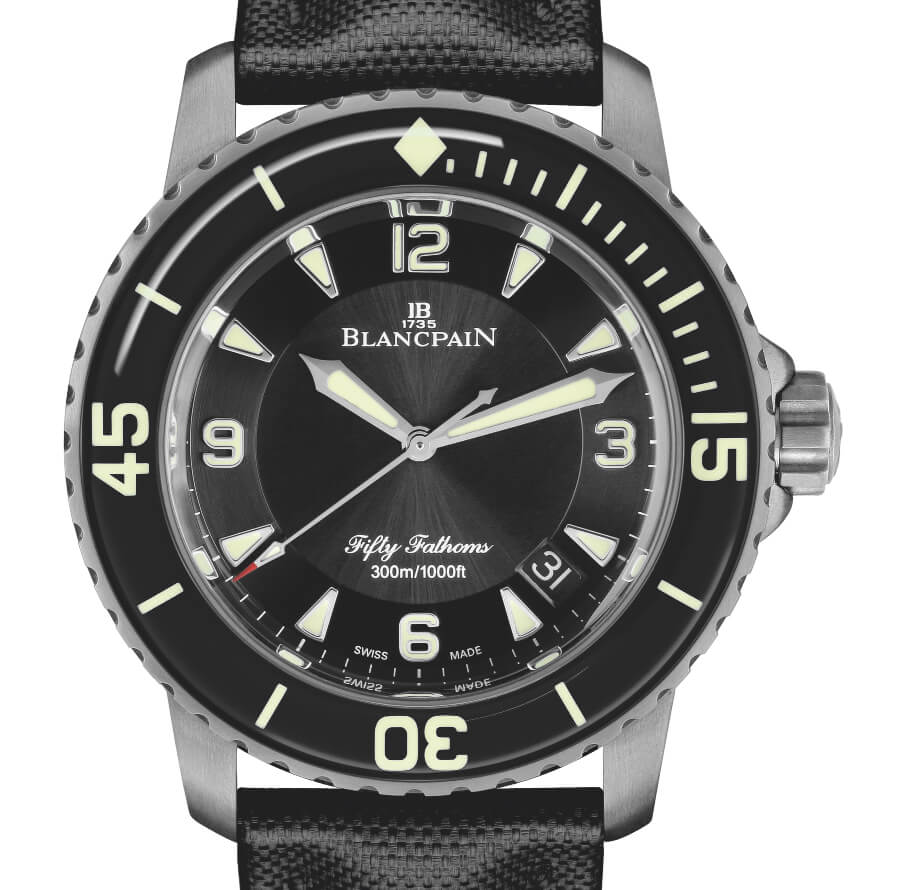 Blancpain Fifty Fathoms Automatic 5051 Titanium Version