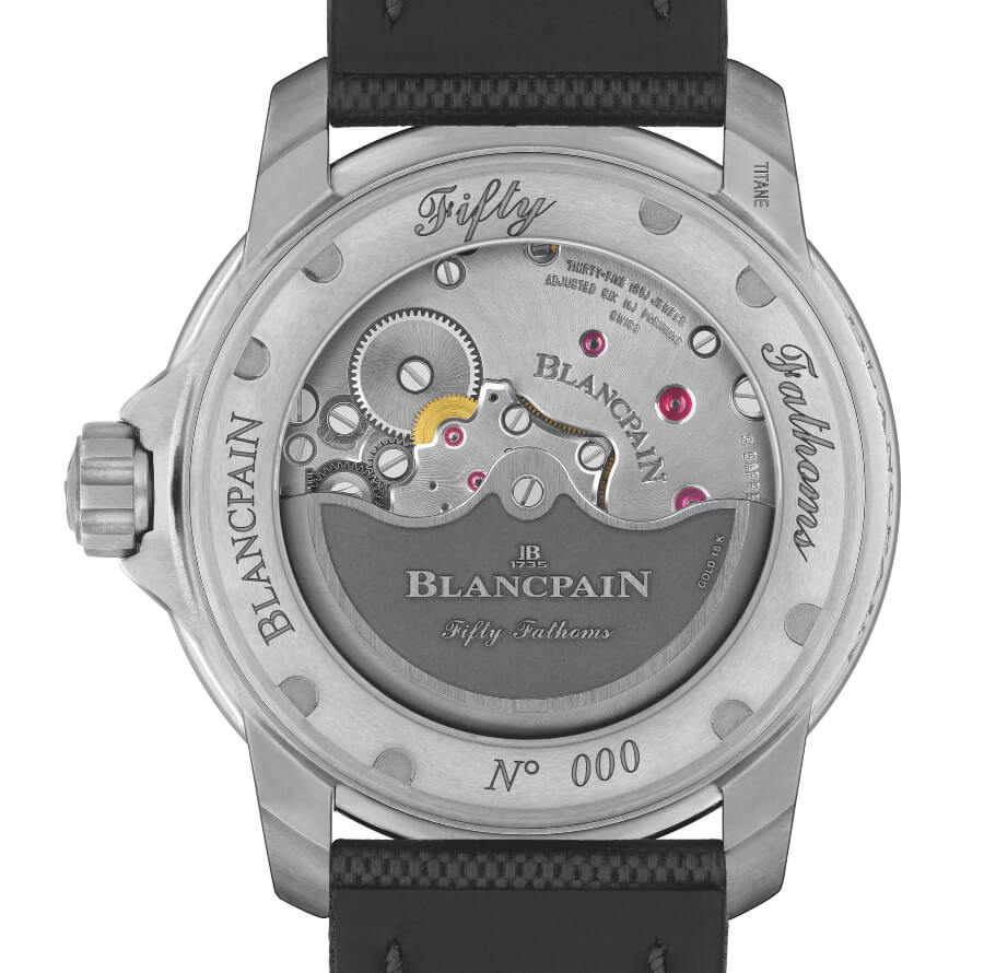Blancpain 1315 Movement