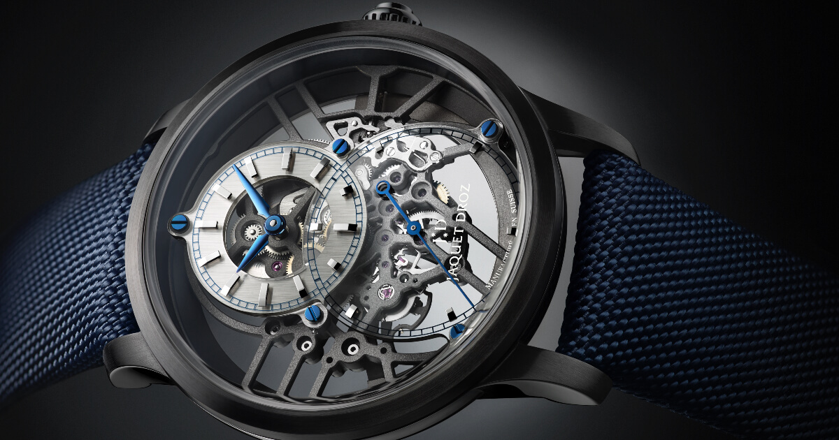 Jaquet Droz Grande Seconde Skelet-One Ceramic (Price, Pictures and Specifications)