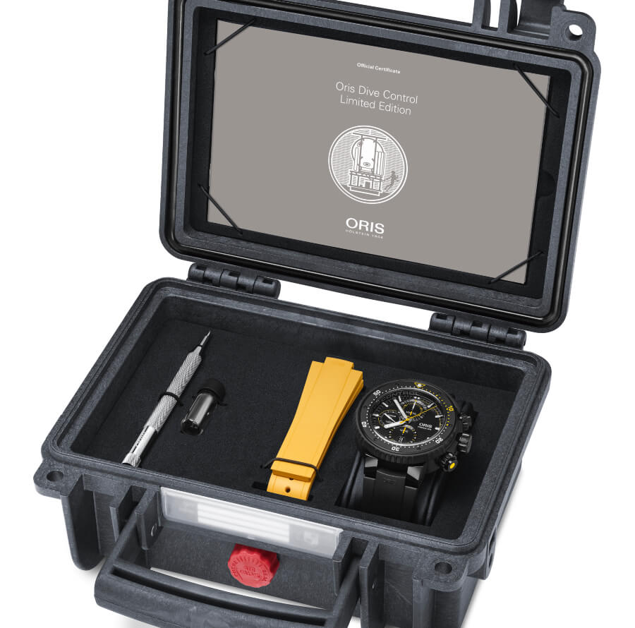 Oris Dive Control Limited Edition Full Box