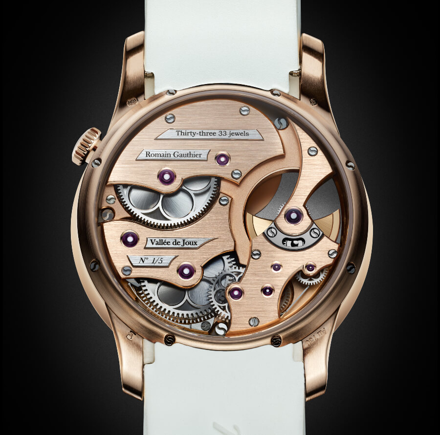 Romain Gauthier Insight Micro-Rotor Lady Opal Movement