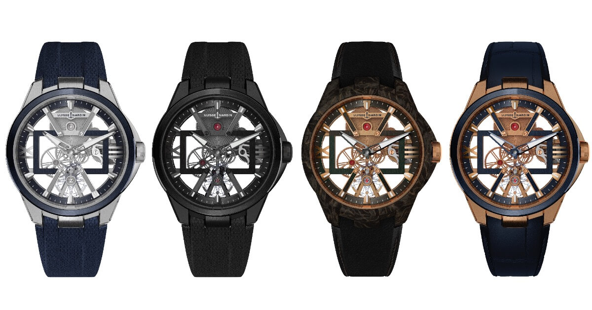 SIHH 2019: Ulysse Nardin Skeleton X (Pictures, Specifications and Prices)