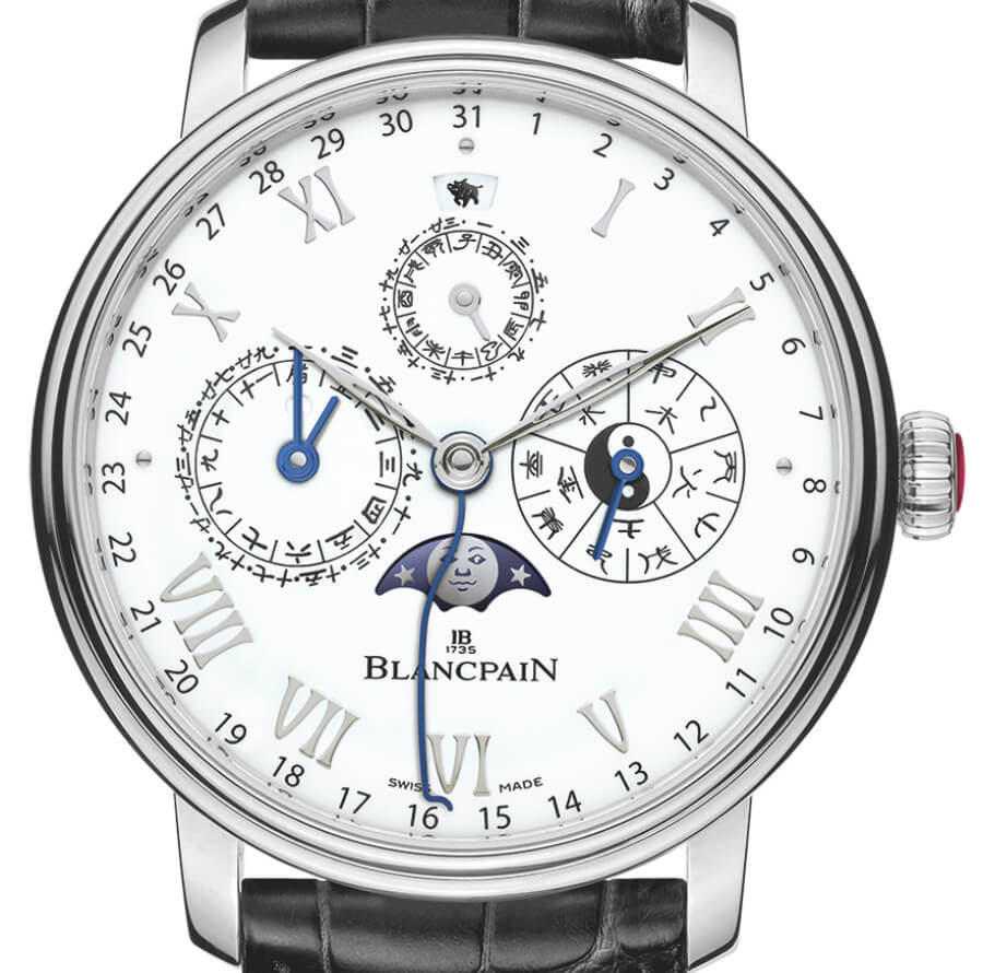 The New Blancpain Traditional Chinese Calendar