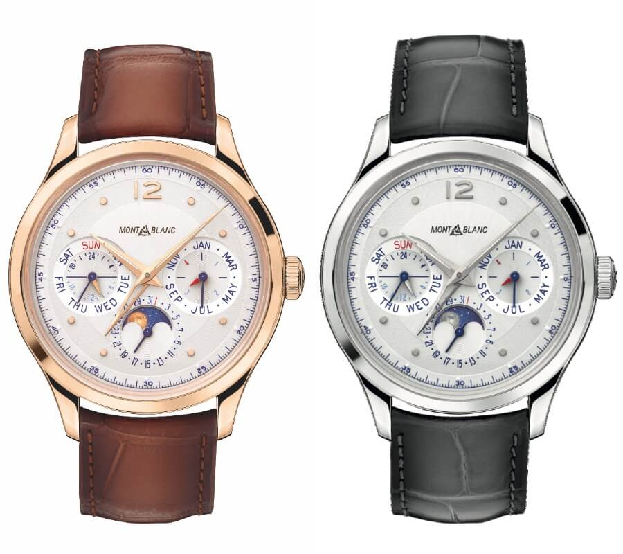 The New Montblanc Heritage Perpetual Calendar Limited Edition 100