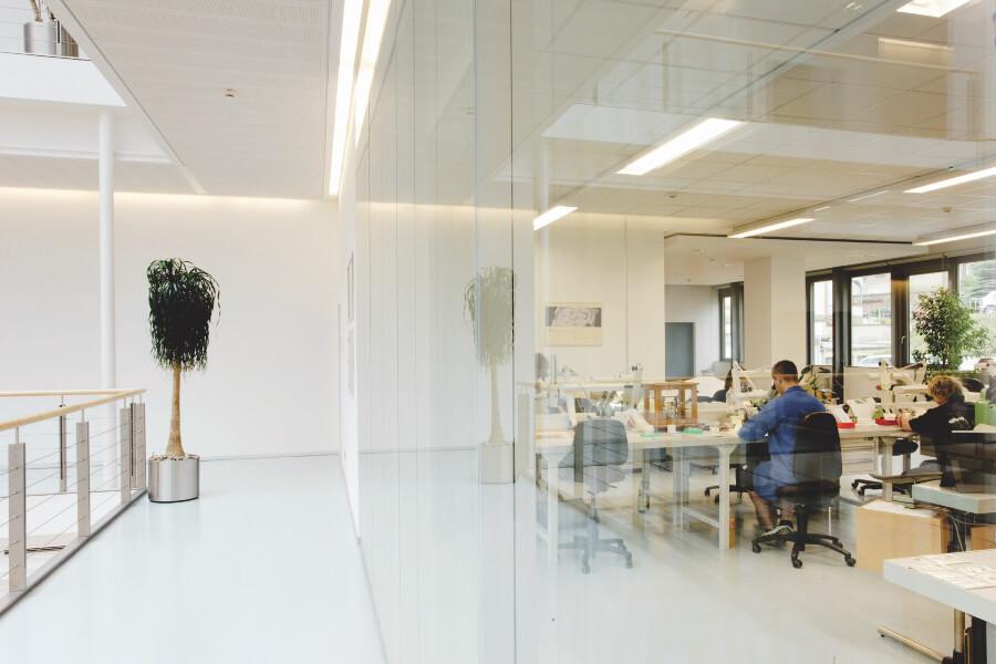 Inside Maufacture Glashutte Oriinal