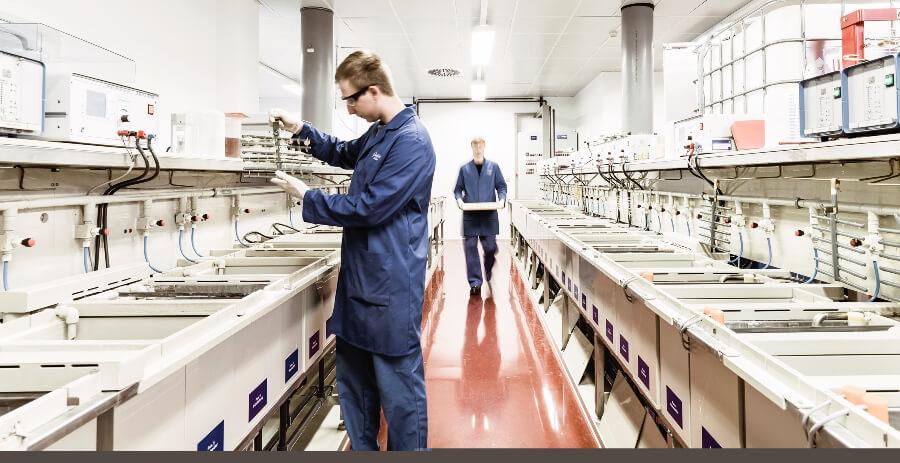 Glashutte Original Electroplating Department