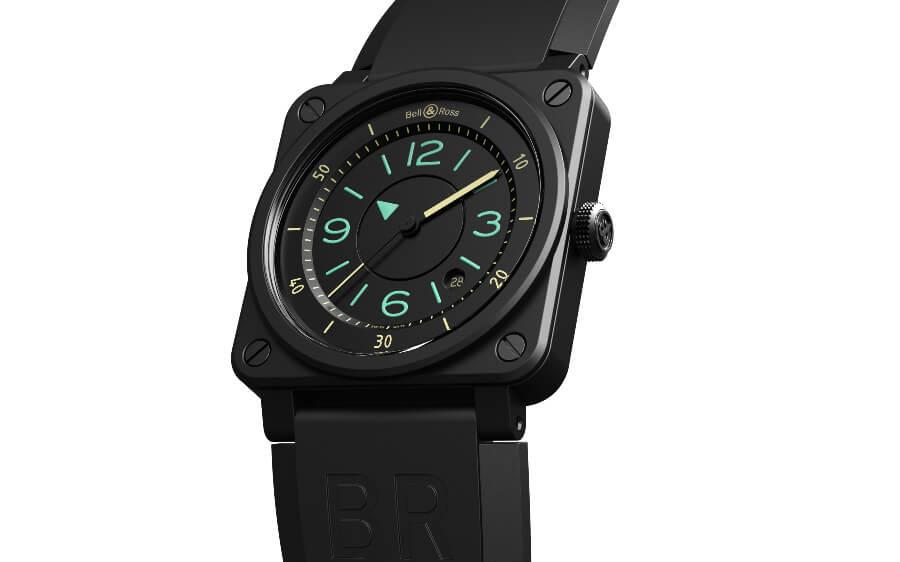 Bell & Ross BR 03 Bi-Compass Aviator Watch