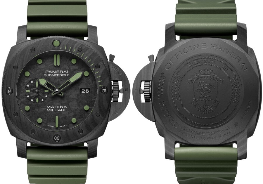 The New Panerai Submersible Marina Militare Carbotech - 47mm Limited Edition