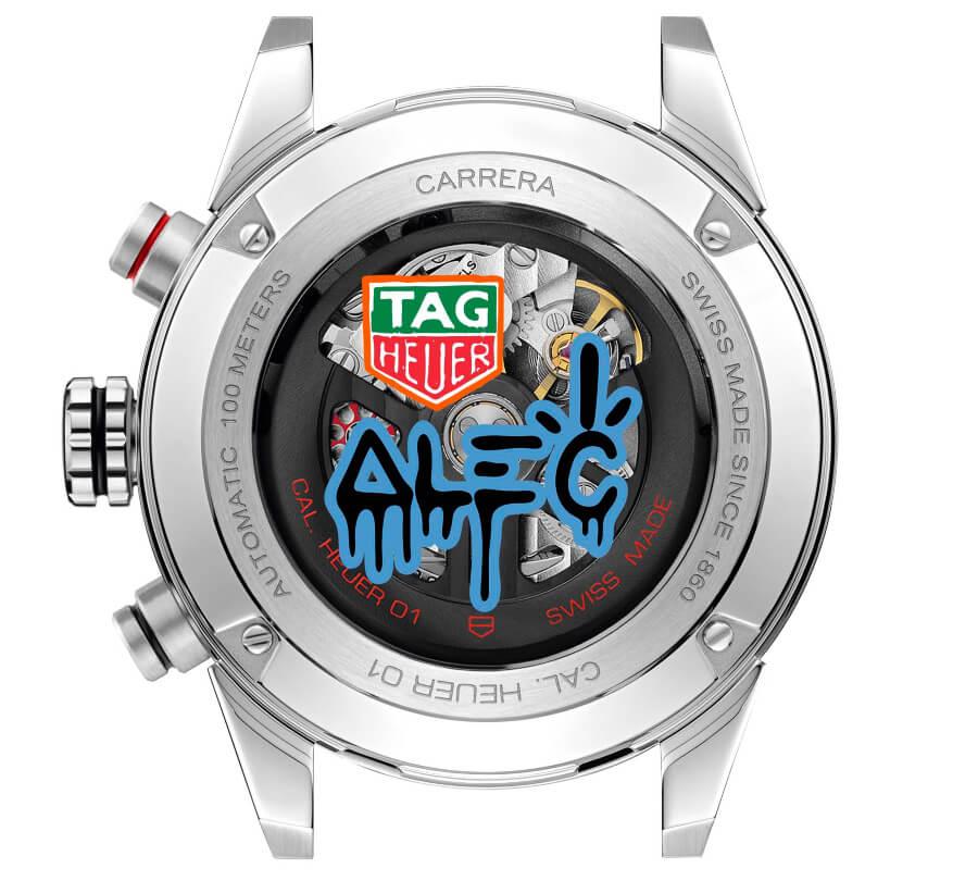 TAG Heuer Carrera Alec Monopoly Movement
