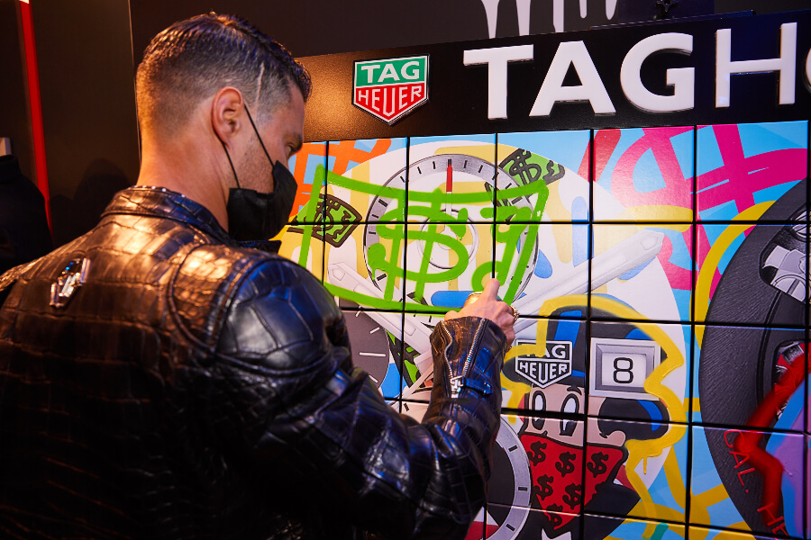 TAG Heuer and Alec Monopoly