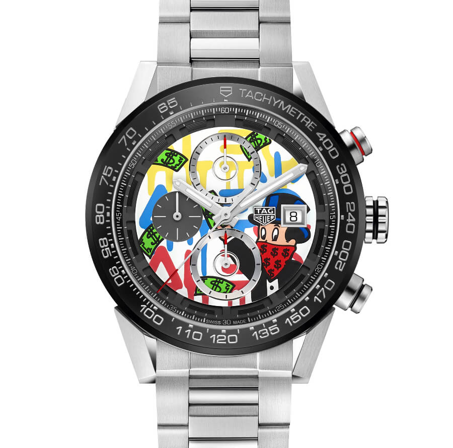 The New TAG Heuer Carrera Alec Monopoly