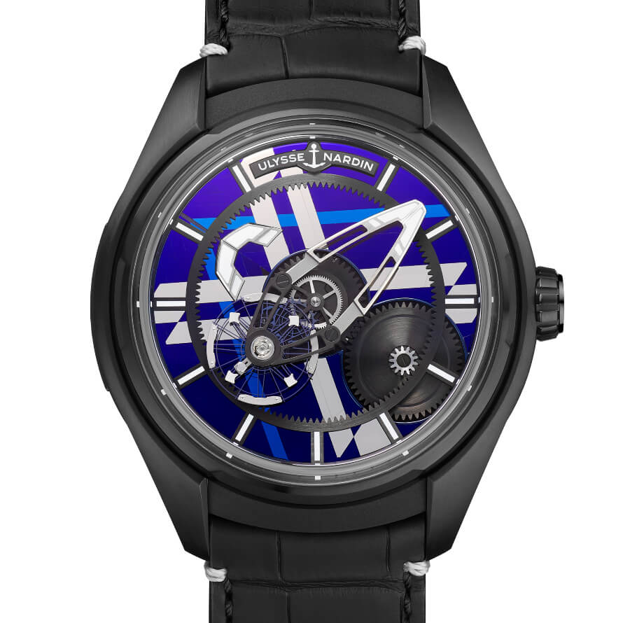 The New Ulysse Nardin Freak X Marquetry