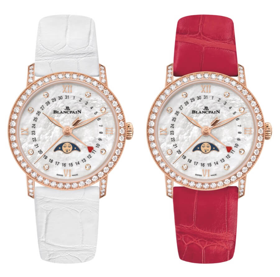 Blancpain Villeret Diamonds Watch
