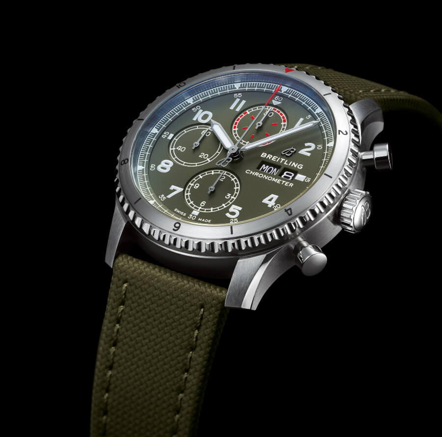 Breitling Aviator 8 Chronograph 43 Curtiss Warhawk