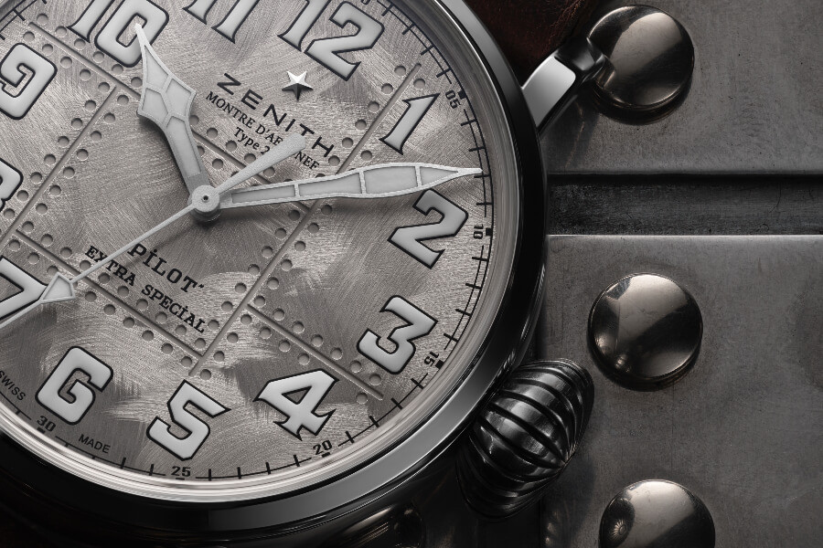 Zenith Pilot Type 20 Extra Special Silver Dial