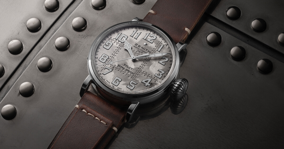 Zenith Pilot Type 20 Extra Special Silver (Price, Pictures and Specifications)