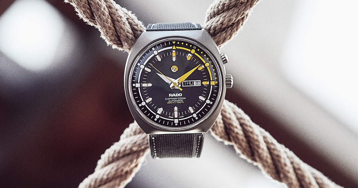 The New Rado Tradition Captain Cook MKIII Automatic