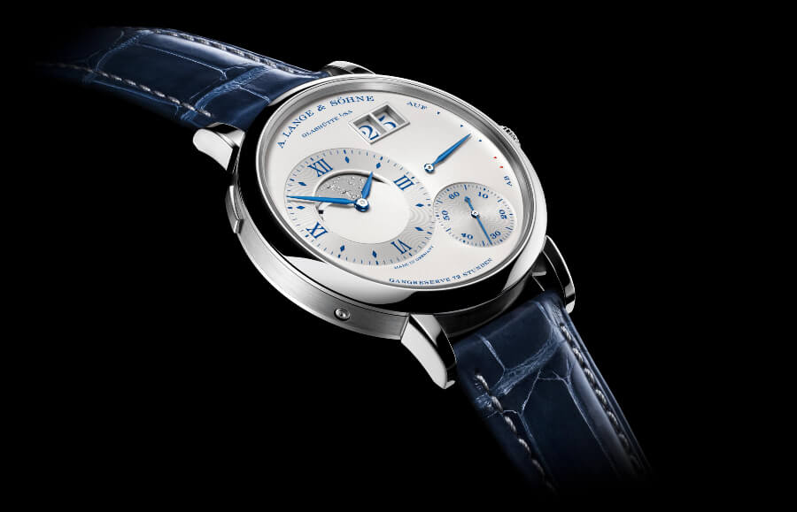 "A. Lange & Sohne Grand Lange 1 Moon Phase ""25th Anniversary""  Watch Review"