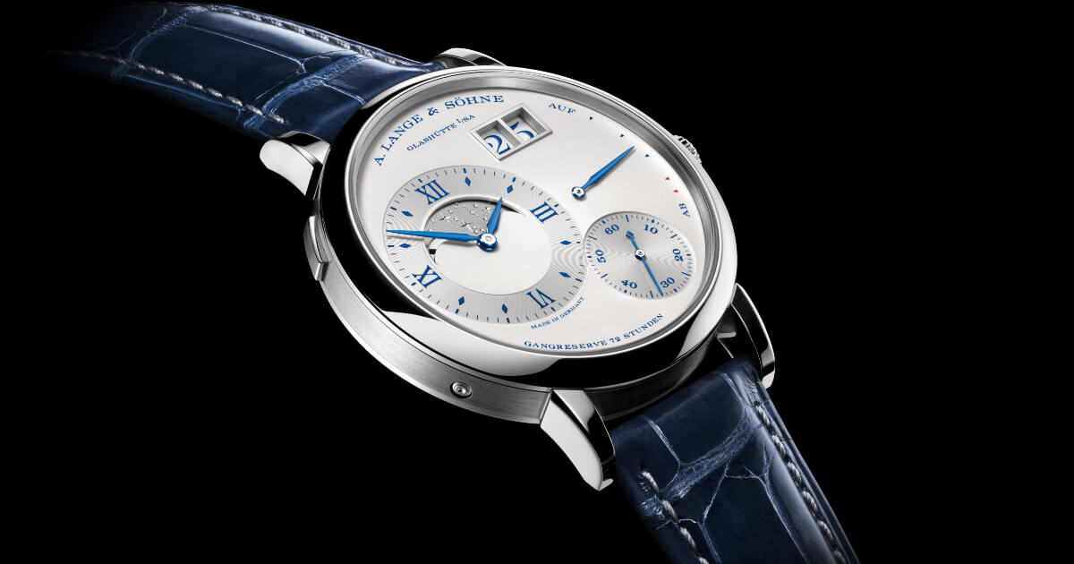 "A. Lange & Sohne Grand Lange 1 Moon Phase ""25th Anniversary"" (Pictures, Price and Specifications)"