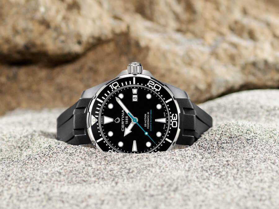 Men Watch Certina DS Action Diver Sea Turtle Conservancy 60th Anniversary