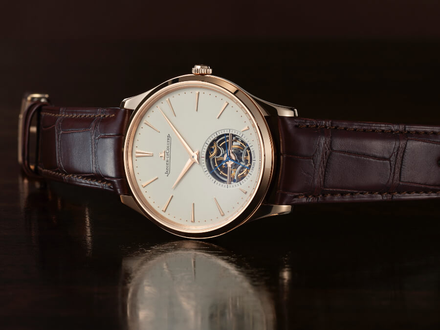 Jaeger-LeCoultre Master Ultra Thin Tourbillon In Pink Gold Watch Review