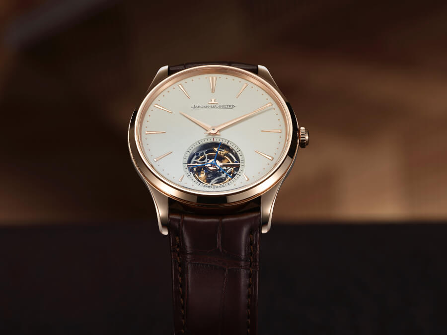 The New Jaeger-LeCoultre Master Ultra Thin Tourbillon In Pink Gold
