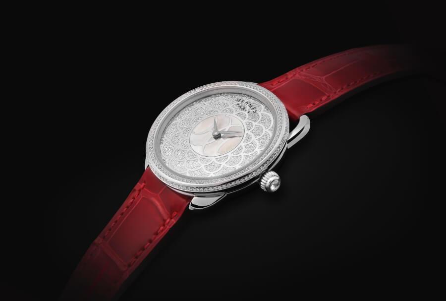 Hermes Arceau H Déco Ladies Watch