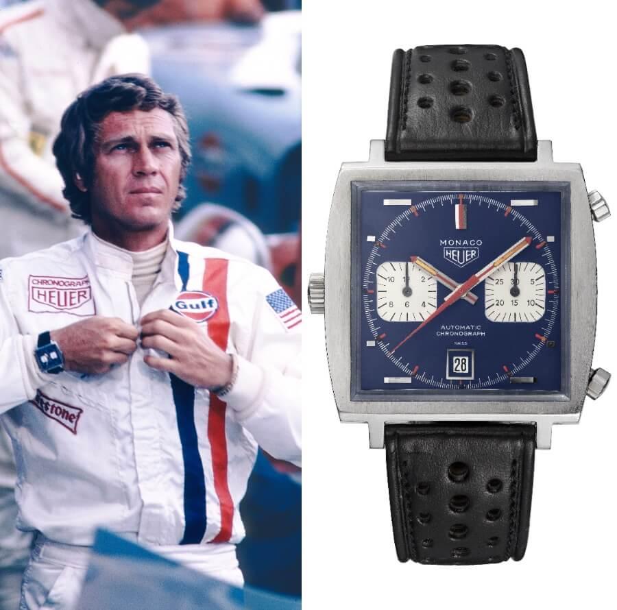 Steve McQueen Heuer Monaco Watch