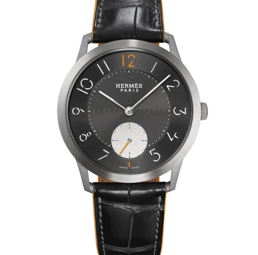 Hermes Slim d'Hermès Titane