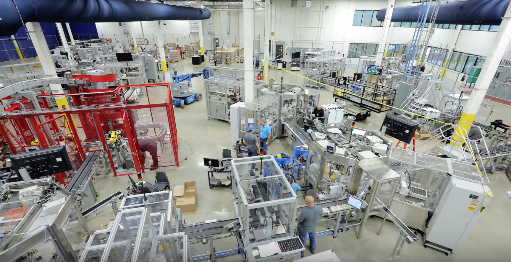 Manufacturer Production Testing